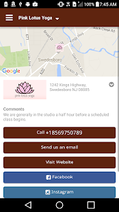 Pink Lotus Yoga- screenshot thumbnail