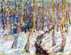 """Photo: Emil Nolde, """"Betulle nella neve"""" (1907)"""