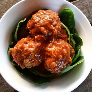 Slow Cooked Porcupine Meatballs.
