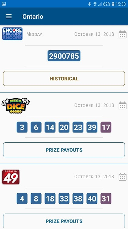 Canada Lottery Numbers – (Android Apps) — AppAgg
