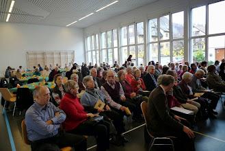 Photo: Erfreulich,  die vollbesetzte Mehrzweckhalle