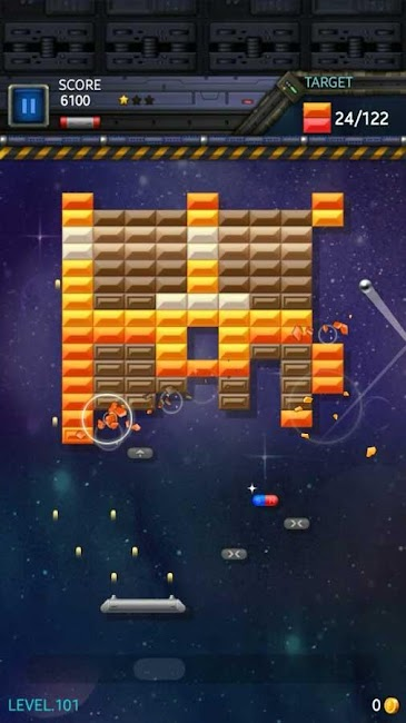 #7. Brick Breaker Star: Space King (Android)
