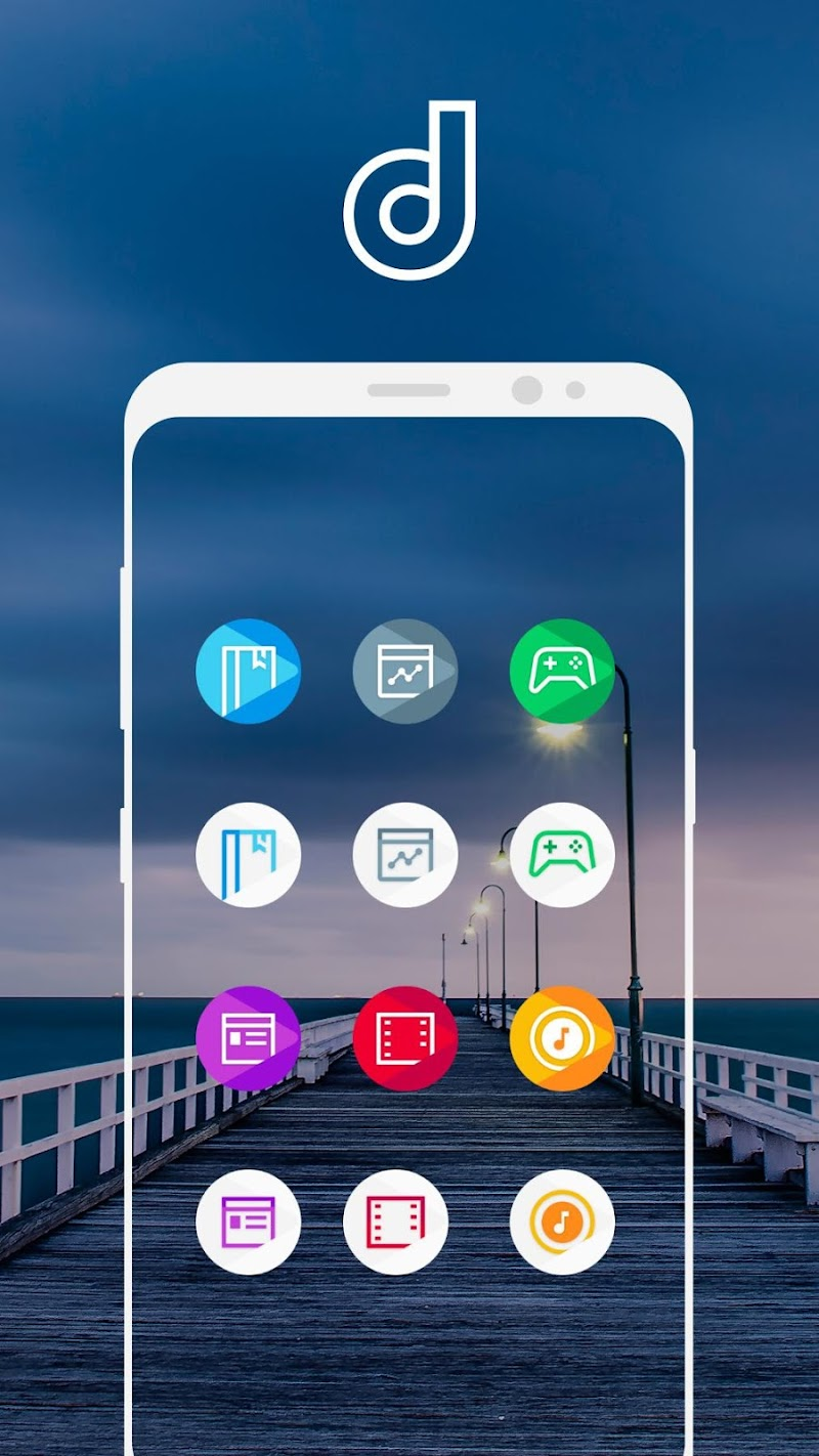 Delux Pixel - S9 Icon pack Screenshot 7