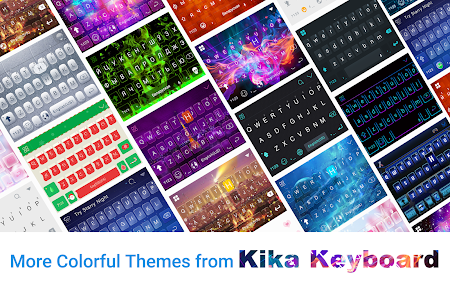 Galaxy Sparkle Kika Keyboard 8.0 screenshot 1272030