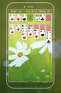 Solitaire card game - náhled