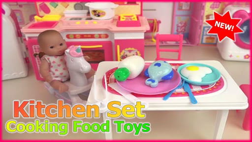 Kitchen Set Cooking Food Toys  screenshots 1