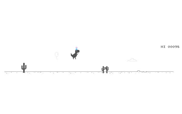 T. Rex Dinosaur Game