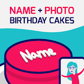 Download Birthday Cake With Name And Photo Free
