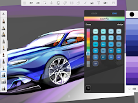 screenshot of SketchBook - draw and paint