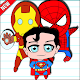 How To Draw Chibi Superheroes (app)