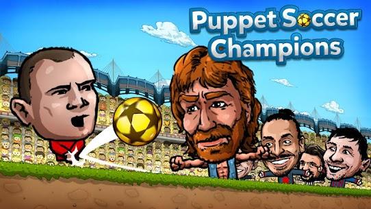 ⚽ Puppet Soccer Champions Mod Apk – League ❤️🏆 1