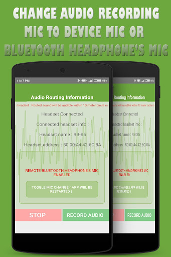 bluetooth ear (with voice recording ) screenshot 2