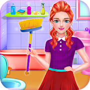 Game School Girls New Year Home Cleanup- HouseKeeper APK for Windows Phone