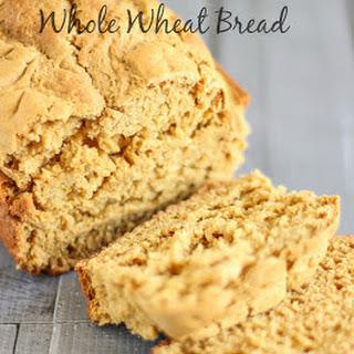 No-Rise Whole Wheat Bread