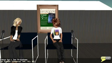 Photo: ... or at least she would be, if she wasn't being currently defeated by the  phone system sucking. From Ian Priestman  via blogHUD