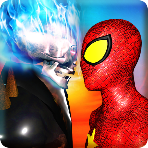 Ghost Hero vs Superheroes Fire Blaze Epic Battle game (apk) free download for Android/PC/Windows