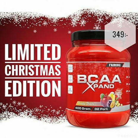 Fairing BCAA Xpand 400g - Frosty Fruits