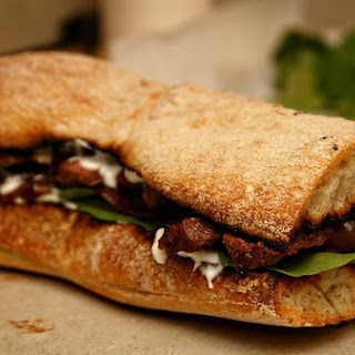 The Best Steak Sandwich