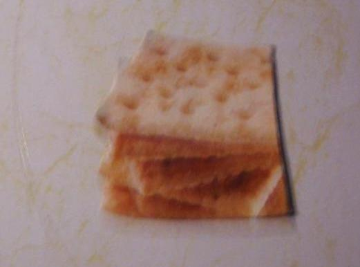 Note: Foto and recipe from Kraft Foods.Saltines.