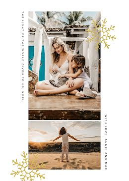 The Light of the World - Christmas Card item