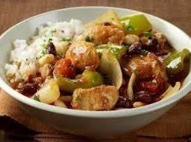 Sweet And Spicy Tomato And Pepper Chicken Stew Recipe