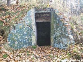 Photo: Zejście do schronu