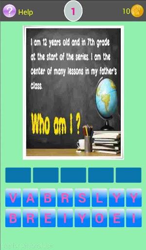 Quiz Word for Girl M World Fan Screenshot