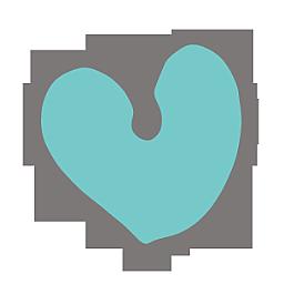 Blauton Herz