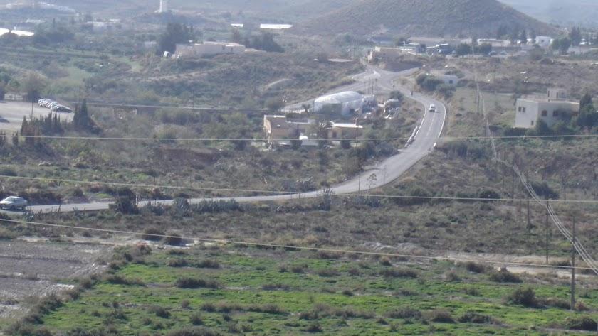 Terrenos de Níjar donde se proyecta el Área Logística.