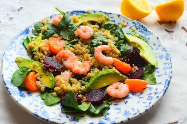 Prawn, Quinoa & Tangerine Salad Recipe