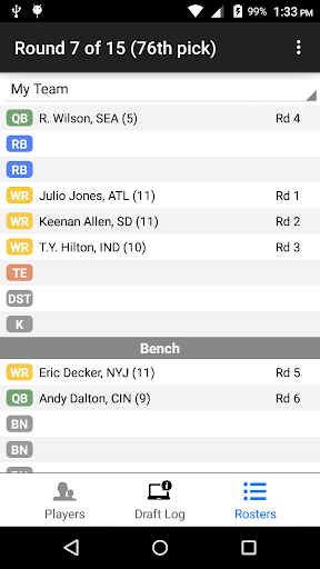 Fantasy Football Draft Wizard screenshot 6