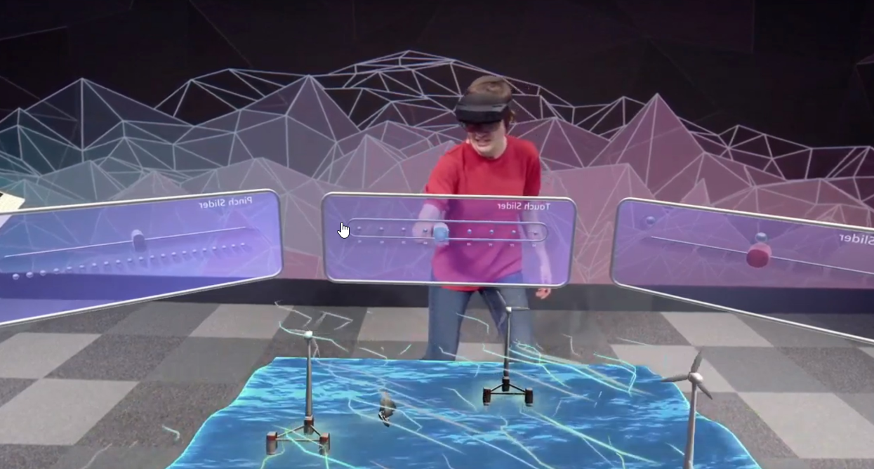 Hololens 2 holographic interface
