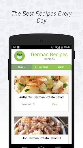German Cuisine: Recipes