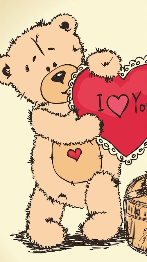 Teddy Bear Live Wallpaper- screenshot