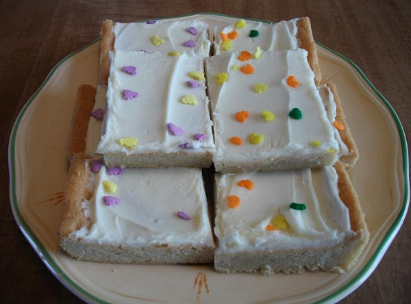 Sugar Cookie Bars Recipe