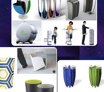 Trash Can Design - náhled