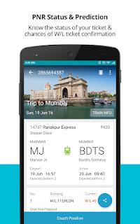 Indian Rail Train PNR Status screenshot 02