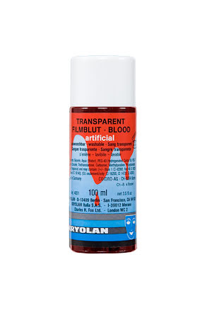 Blod, transparent 100ml ljus