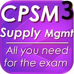 CPSM P3 Supply Mgt Exam Review 1.1 Apk