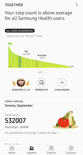 Samsung Health 6.3.0.027 screenshots 2