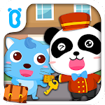 Baby Panda Hotel - Puzzle Game Icon