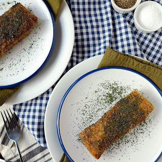 BUTTERY DILL FRIED HALIBUT