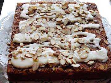 Almond-laced Banana Cake Recipe