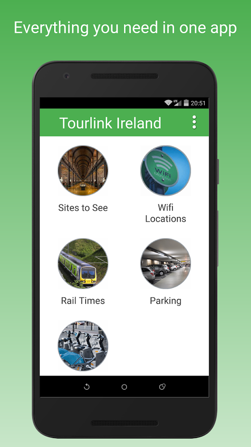 Tourlink Ireland- screenshot