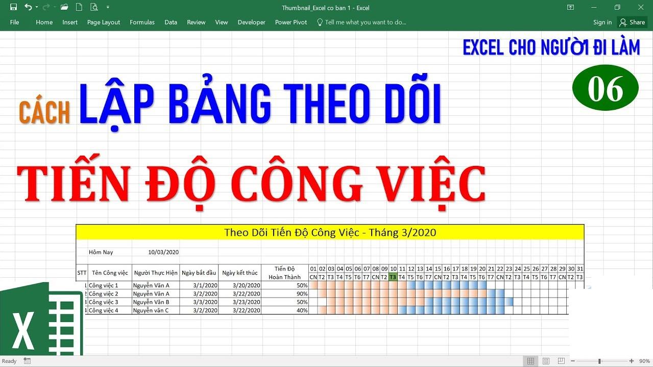 Dùng Excel quản lý tiến độ công việc gặp khó khăn gì?