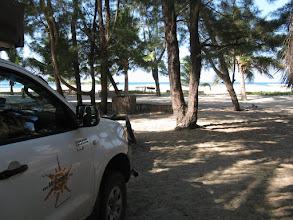 Photo: Pomene Lodge. Campsite