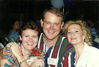 Photo: Mary (Traud) Austin, Scott Johnson, Suzy (Wright) Thomas