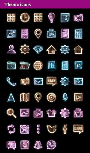 玩免費工具APP|下載테마・아이콘 Seven +HOME Theme app不用錢|硬是要APP