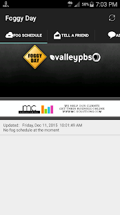 Fog Delay Schedule- screenshot thumbnail