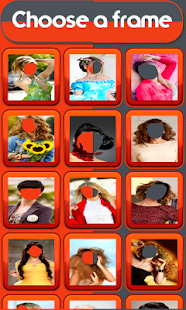 Woman Hair Style Photo Montage- screenshot thumbnail